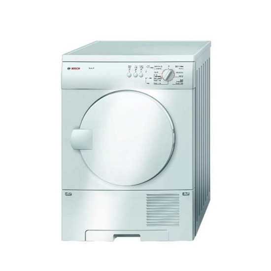 Bosch Exxcel WTC84100GB