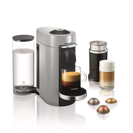 Magimix 11388 Vertuo Plus Coffee Machine with Aeroccino - Silver Reviews