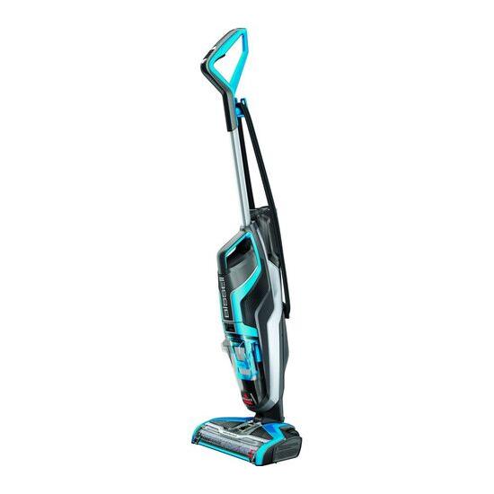 Bissell CrossWave Upright Wet & Dry Vacuum Cleaner - Titanium & Blue