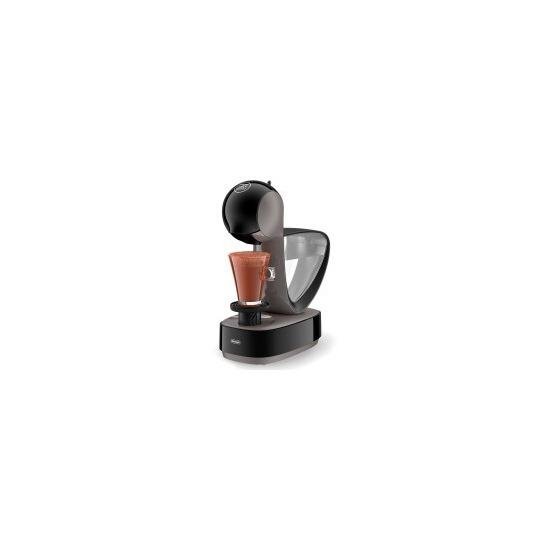 De'Longhi Infinissima EDG260.G Coffee Machine - Black & Grey