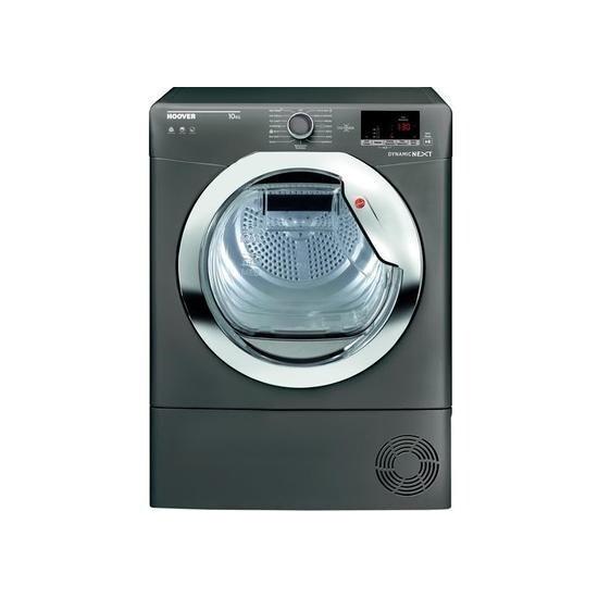 Hoover Dynamic Next DX C10DCER NFC 10 kg Condenser Tumble Dryer - Graphite