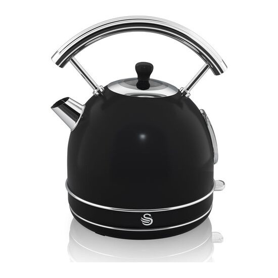 Retro SK34021BN Traditional Kettle - Black