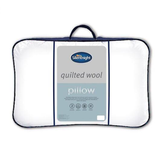 Silentnight Quilted Wool Pillow - Medium Firmness