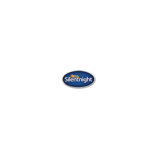 "Silentnight Geltex Ultra 3000 - Double (4'6"") - Medium/Soft - Ebony - Platform base - Silver Castor - 2 Drawers"