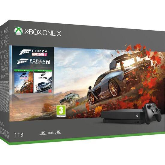 Xbox One X with Forza Horizon 4 & Forza Motorsport 7