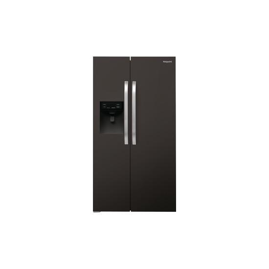 Hotpoint SXBHE 925 WD American-Style Fridge Freezer - Black