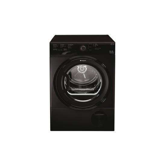 Hotpoint Aquarius TCFS 835B KP Tumble Dryer - Black