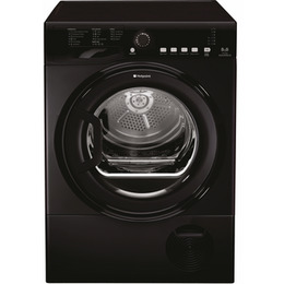 Hotpoint Aquarius TCFS 835B KP.9 Tumble Dryer - Black