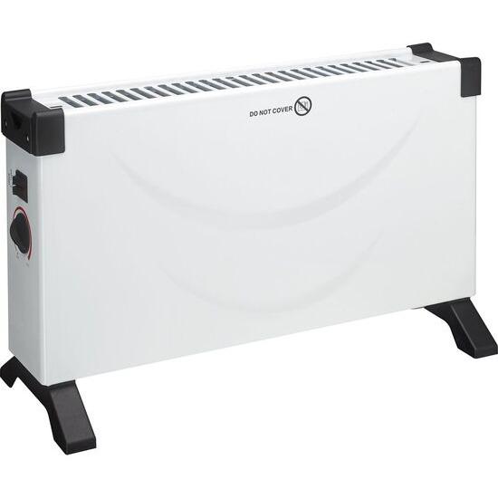 ESSENTIALS ESSENTIALS C20CHW18 Portable Convector Heater - White & Black