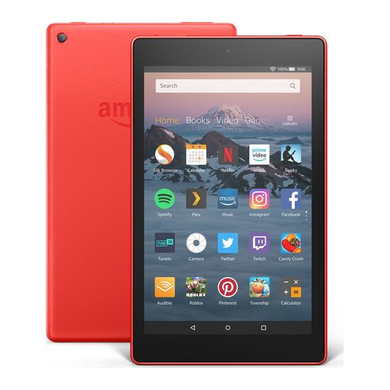 Fire HD 8 Tablet (2018) - 16 GB, Red