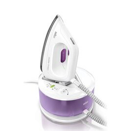 Braun CareStyle Compact IS2044 Steam Generator Iron - White & Violet Reviews