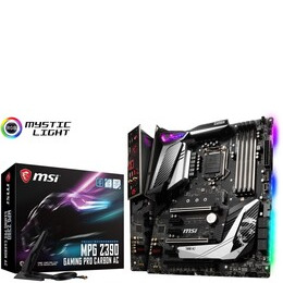 MSI MPG Z390 Gaming Pro Carbon AC Motherboard Reviews