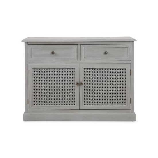 Lucy Cane Grey Small Sideboard