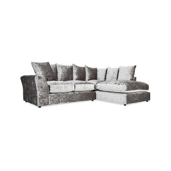 Vermont Velvet Large Right Hand Corner Sofa