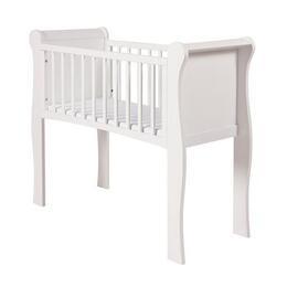 Kiddicare White Sleigh Crib