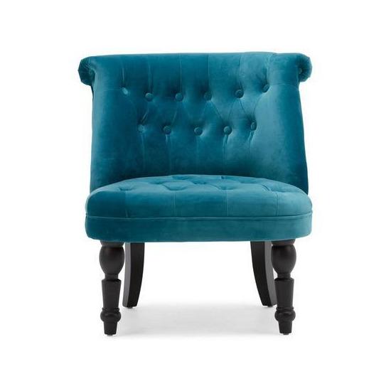 Grace Velvet Armchair - Teal