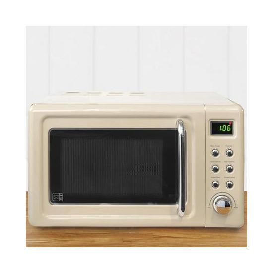 Retro 20L 800W Digital Microwave