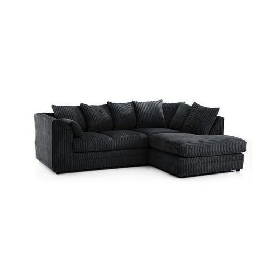 Chicago Jumbo Cord Right Hand Corner Sofa