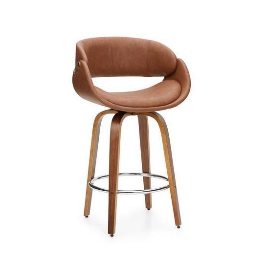 Torcello Tan Bar Chair