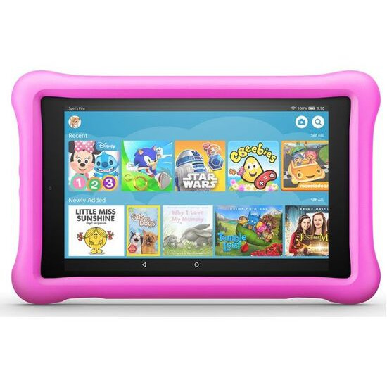 """Fire HD 8"""" Kids Edition Tablet (Oct 2018) - 32 GB, Pink"""