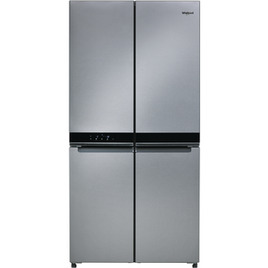 Whirlpool W Collection 4 Doors WQ9 B1L Fridge Freezer in Stainless Steel