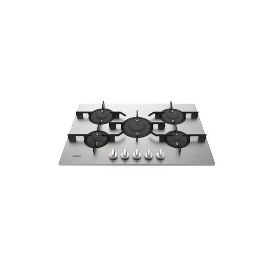 Whirlpool Gas Hob - 5 gas burners PMW 75D2/IXL