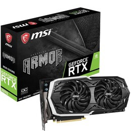 GeForce RTX 2070 8 GB ARMOR OC Graphics Card Reviews