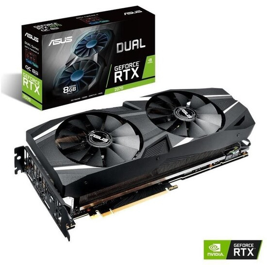 GeForce RTX 2070 8 GB Dual Advanced Edition Graphics Card