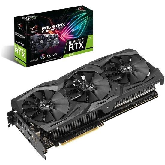 GeForce RTX 2070 8 GB ROG Strix OC Graphics Card