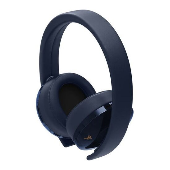 PS4 500 Million Limited Edition Gold Wireless 7.1 Gaming Headset - Blue