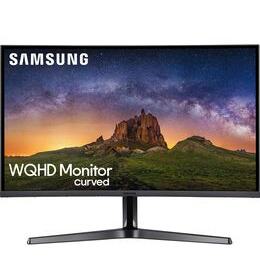 "Samsung LC32JG50QQUXEN Quad HD 32"" Curved LED Gaming Monitor - Dark Silver Reviews"