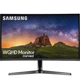 "Samsung LC32JG50QQUXEN Quad HD 32"" Curved LED Gaming Monitor - Dark Silver Reviews"