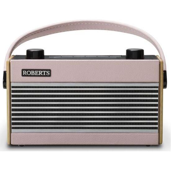 Roberts Portable DAB+/FM Retro Radio - Pink