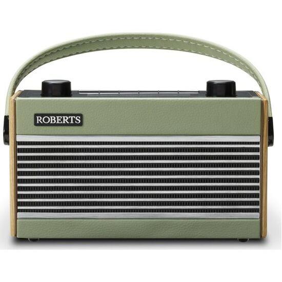 Roberts Portable DAB+/FM Retro Radio - Green