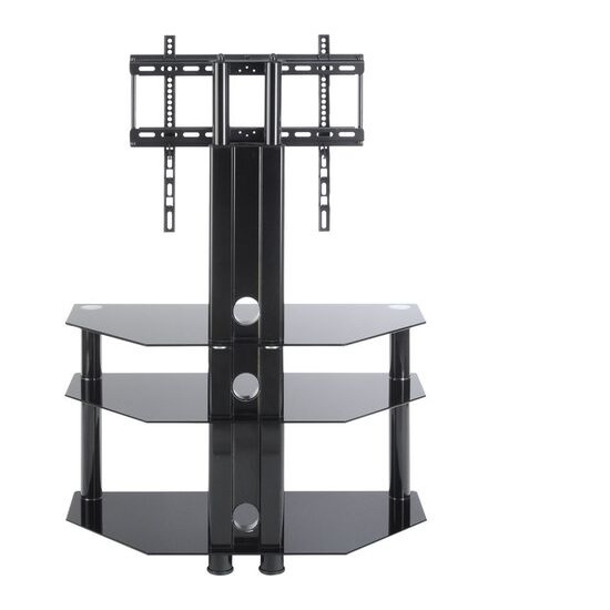 ttap Classik TVS1008 800 mm TV Stand with Bracket - Black