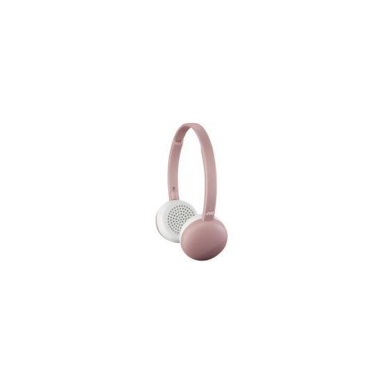 JVC HA-S20BT On Ear Headphones Wireless Flats Bluetooth - Pink
