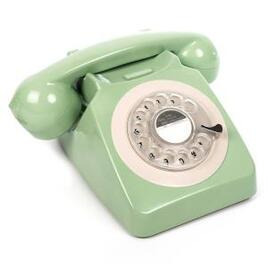 GPO 746 Retro Rotary Dial Telephone - Mint Green Reviews
