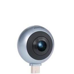 PRAKTICA Luxmedia Z360m 360 Smartphone Camera - Silver/Black