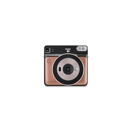 Fujifilm Instax Square SQ6 Instant Camera & 30 Shots - Blush Gold