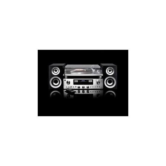 GPO 'Premium Series' PR 100 & 200 Turntable, AMP & Separate Speaker