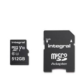 Integral 512GB Smartphone/Tablet Class 10 MicroSDHC Memory Card