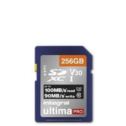 Integral 256GB High Speed V30 UHS-I U3 SDHC Memory Card