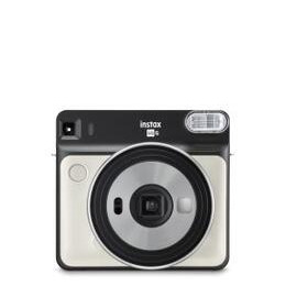 Fujifilm Instax Square SQ6 Instant Camera inc 10 Shots - Pearl White