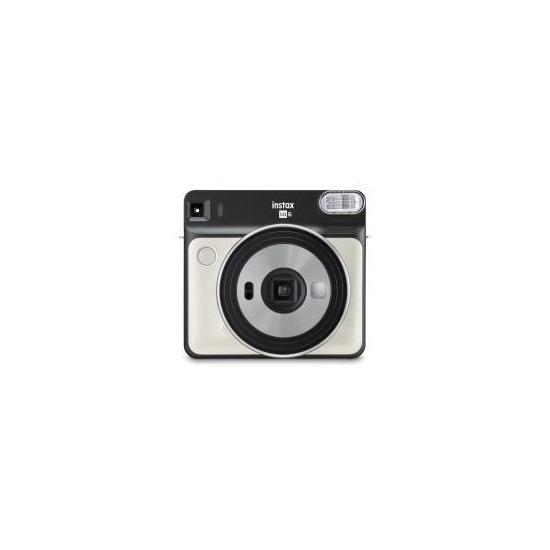 Fujifilm Instax Square SQ6 Instant Camera inc 10 Shots - Pearl White