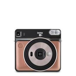 Fujifilm Instax Square SQ6 Instant Camera & 10 Shots - Blush Gold