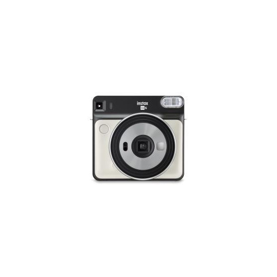 Fujifilm Instax Square SQ6 Instant Camera inc 30 Shots - Pearl White
