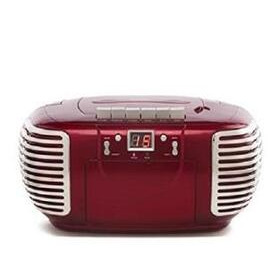 GPO PCD299 CD / Cassette Boombox - Red Reviews