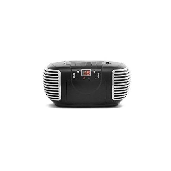 GPO PCD299 CD / Cassette Boombox - Black