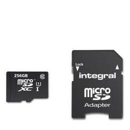 Integral 256GB Smartphone/Tablet Class 10 MicroSDHC Memory Card Reviews