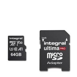 Integral 64GB High Speed V30 UHS-I U3 MicroSDHC Memory Card Reviews